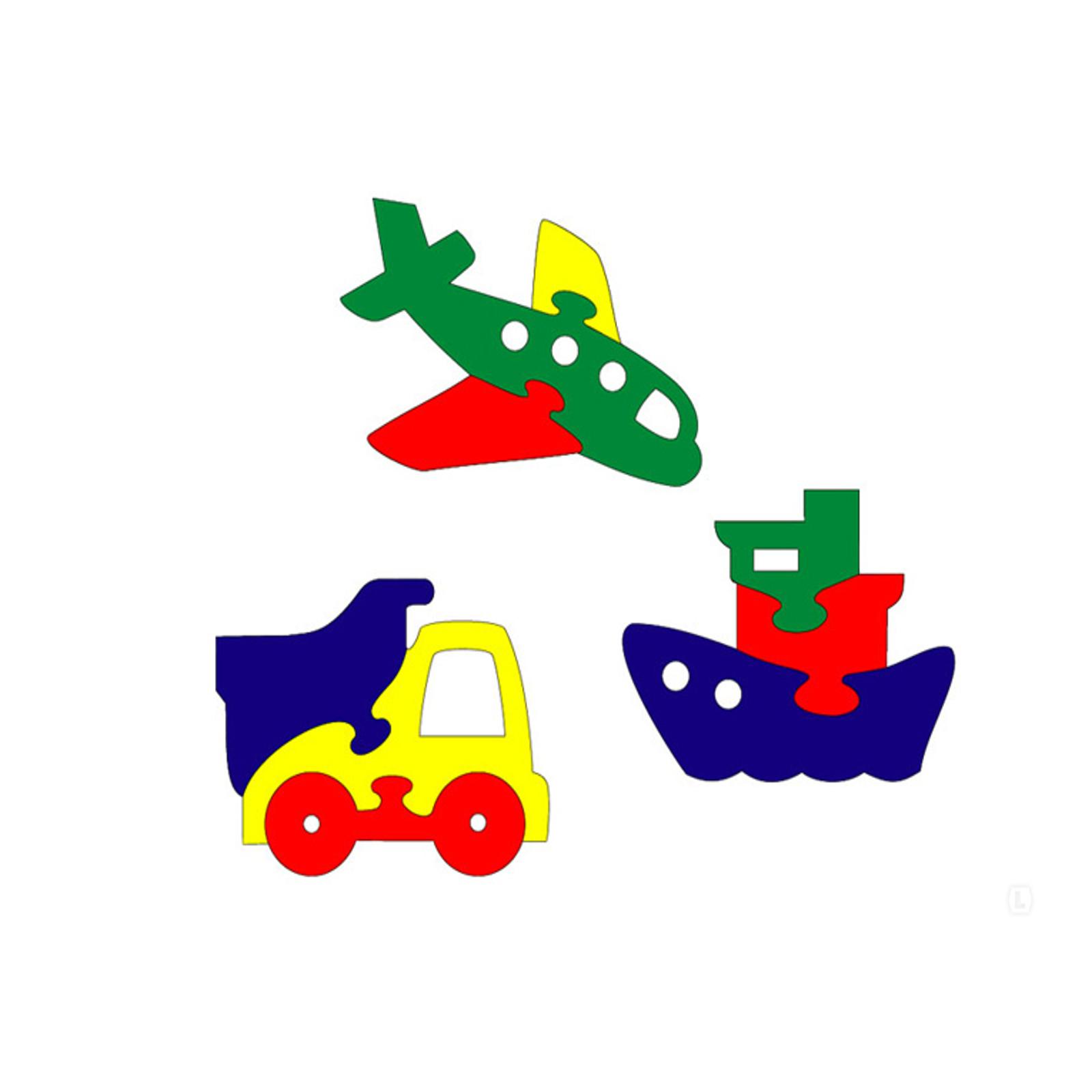 Мозаика Флексика Транспорт мини-фигурки (3 шт.)<br>