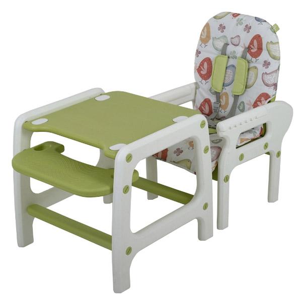 Стульчик для кормления Happy Baby Oliver Lime Green