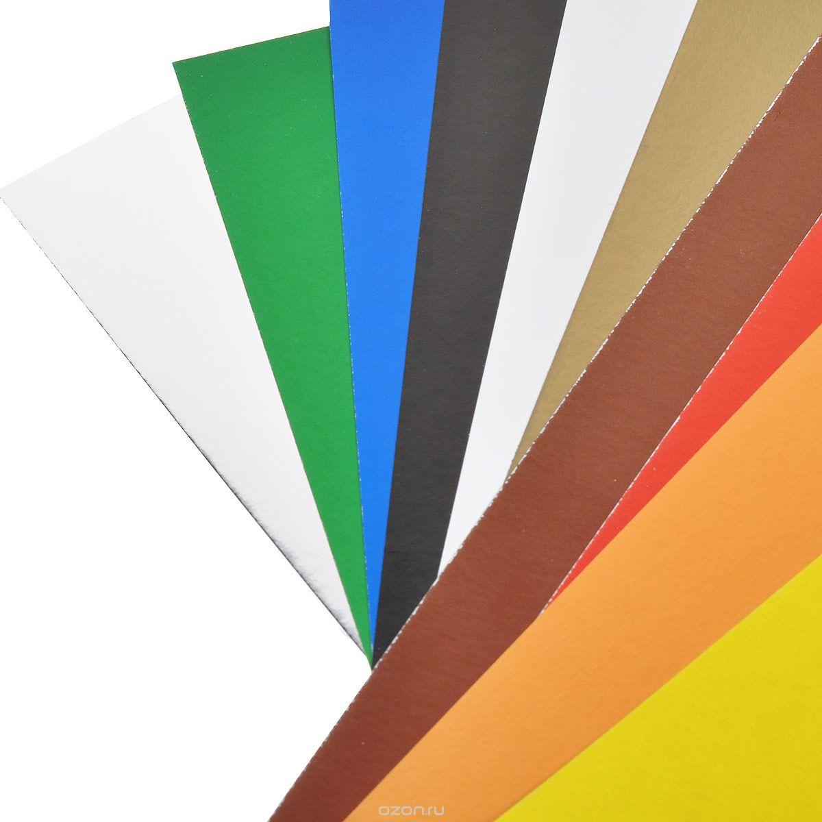 Набор цветной бумаги ACTION! TATTY TEDDY Мелованная А4 10 листов 10 цветов 2 дизайна