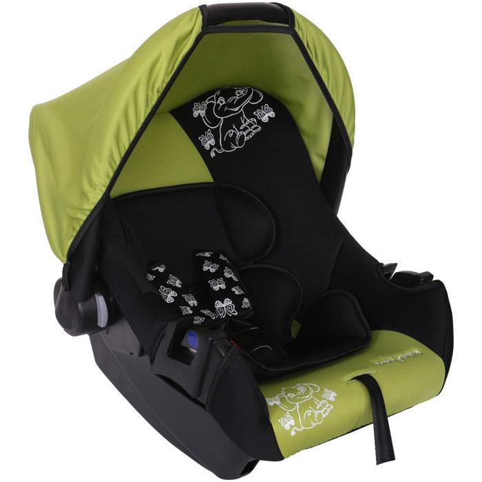 Автокресло Baby Care BC-322 Люкс Слоник Зеленый<br>