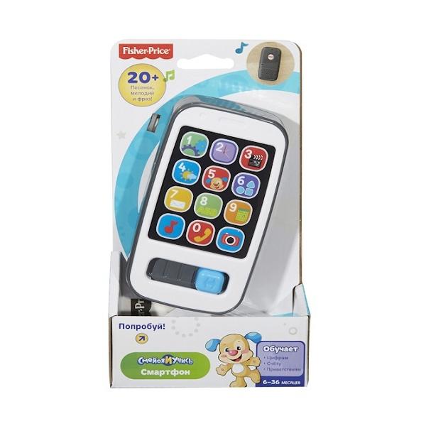 Развивающая игрушка Fisher Price Смейся и Учись Умный телефон<br>