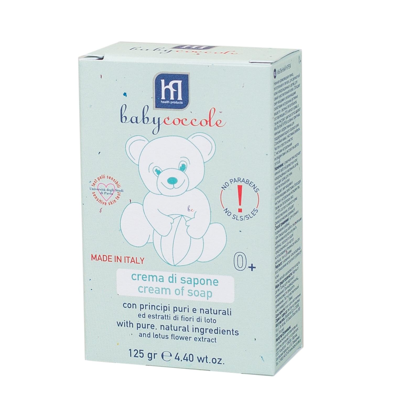 Крем-мыло Babycoccole 125 мг  (брикет)<br>