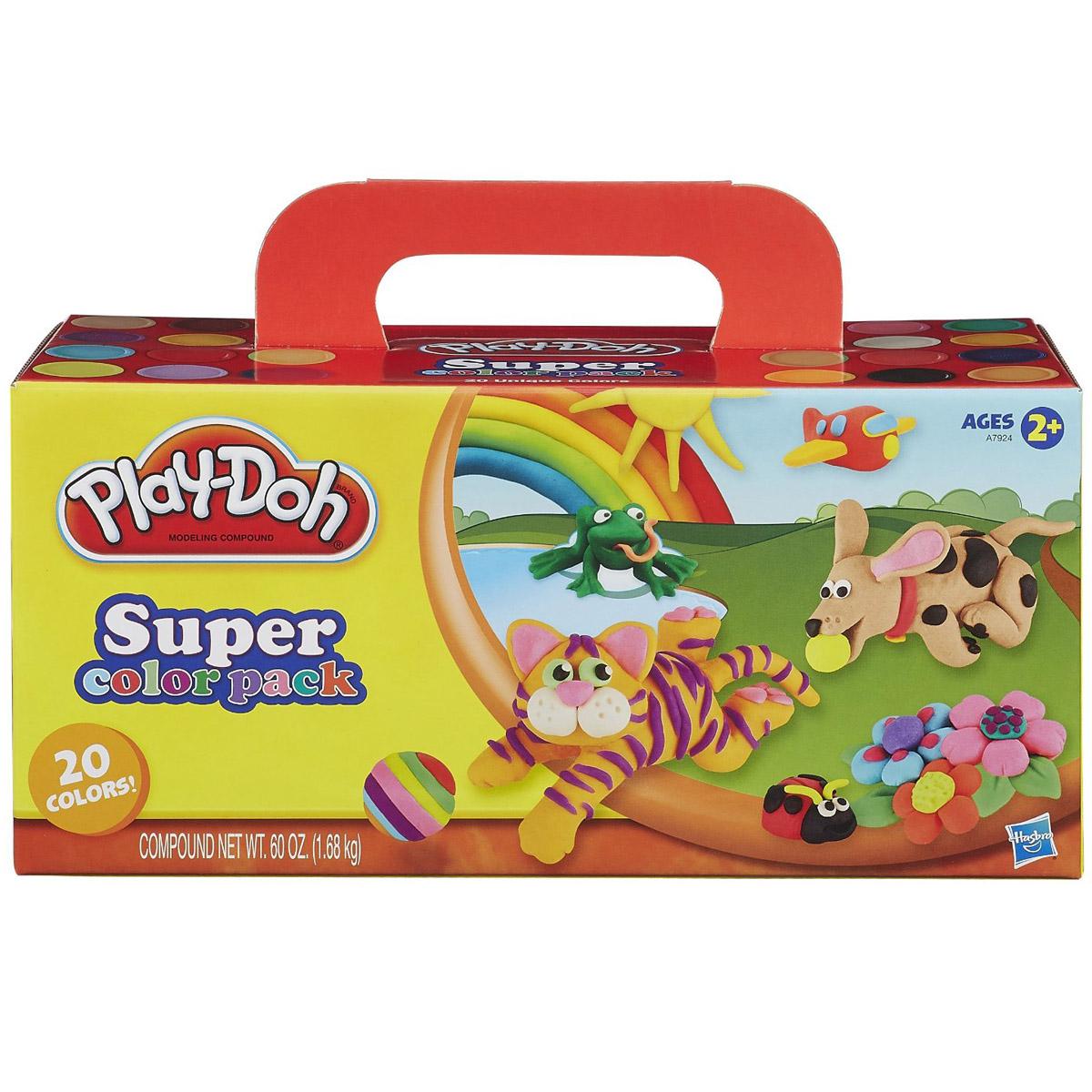 Игровой набор Play-Doh 20 баночек<br>