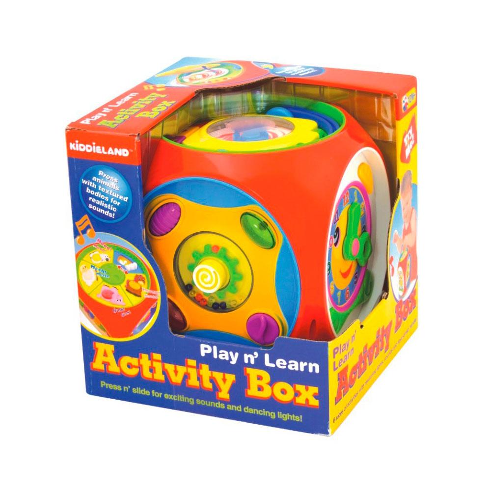 Развивающая игрушка Kiddieland Многофункциональный короб<br>