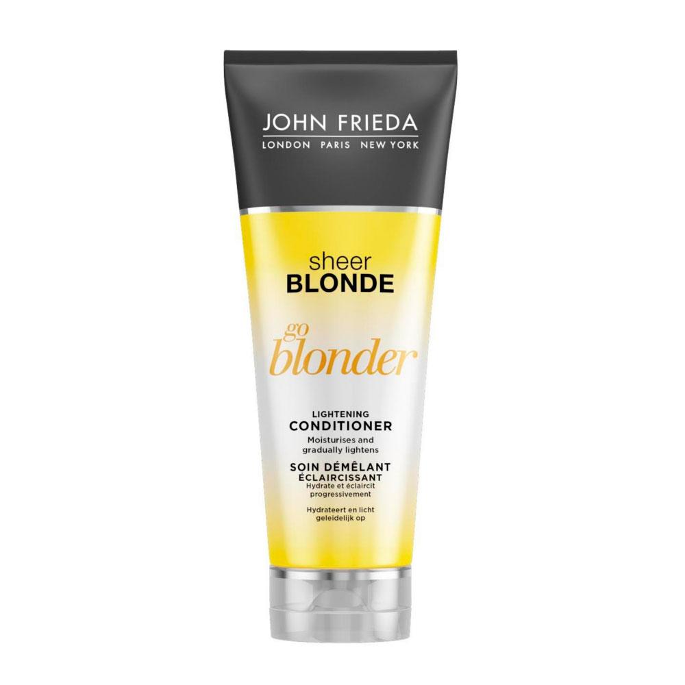 Кондиционер John Frieda Sheer Blonde осветляющий для натуральных, мелированных и окрашенных волос 250 мл<br>
