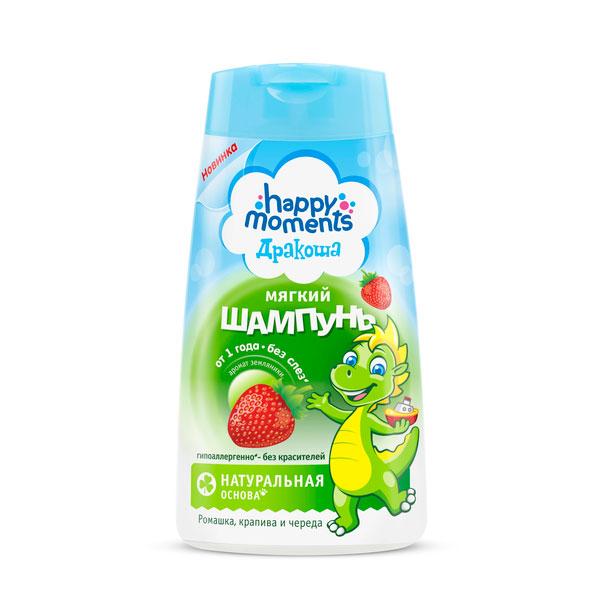 Шампунь Дракоша 240 мл с ароматом земляники<br>