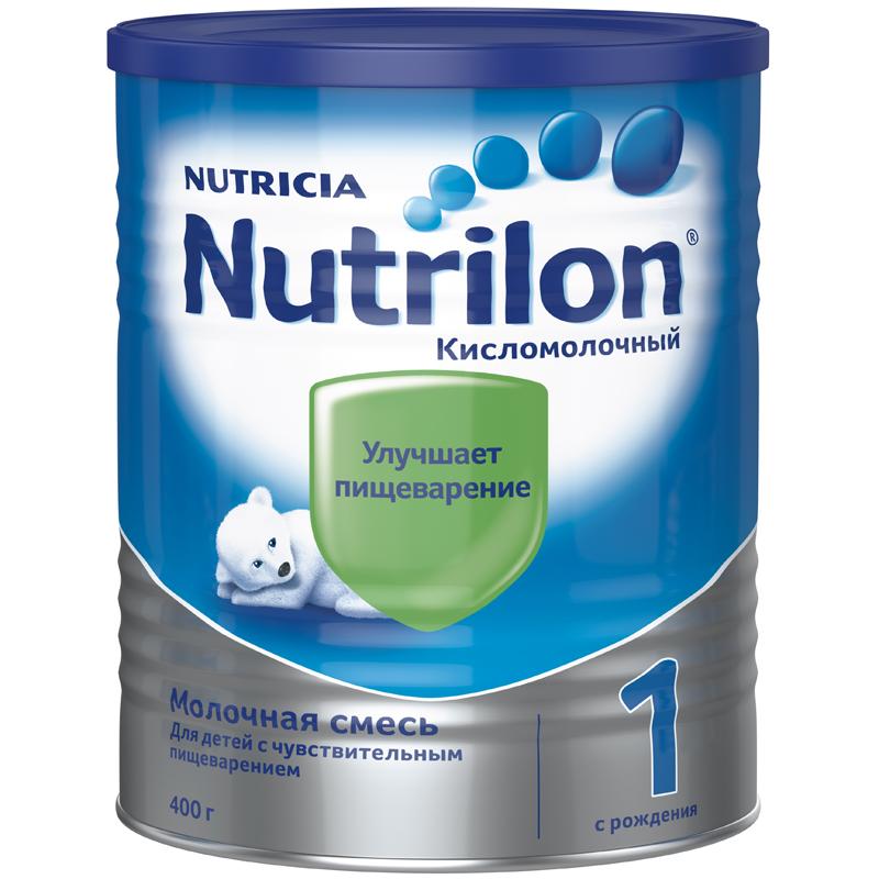 Заменитель Nutricia Nutrilon Кисломолочный 400 гр №1 (с 0 мес)<br>