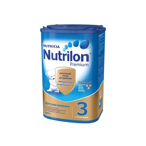 ���������� Nutricia Nutrilon Premium 800 �� �3 (� 12 ���)