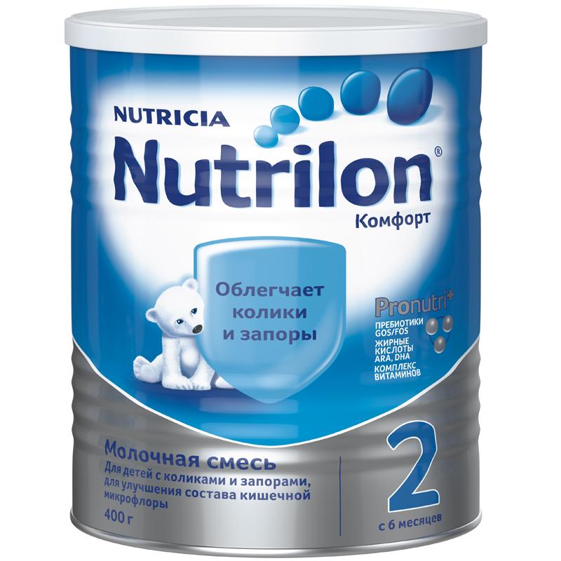 Заменитель Nutricia Nutrilon Комфорт 400 гр №2 (с 6 мес) (Nutrilon (Nutricia))