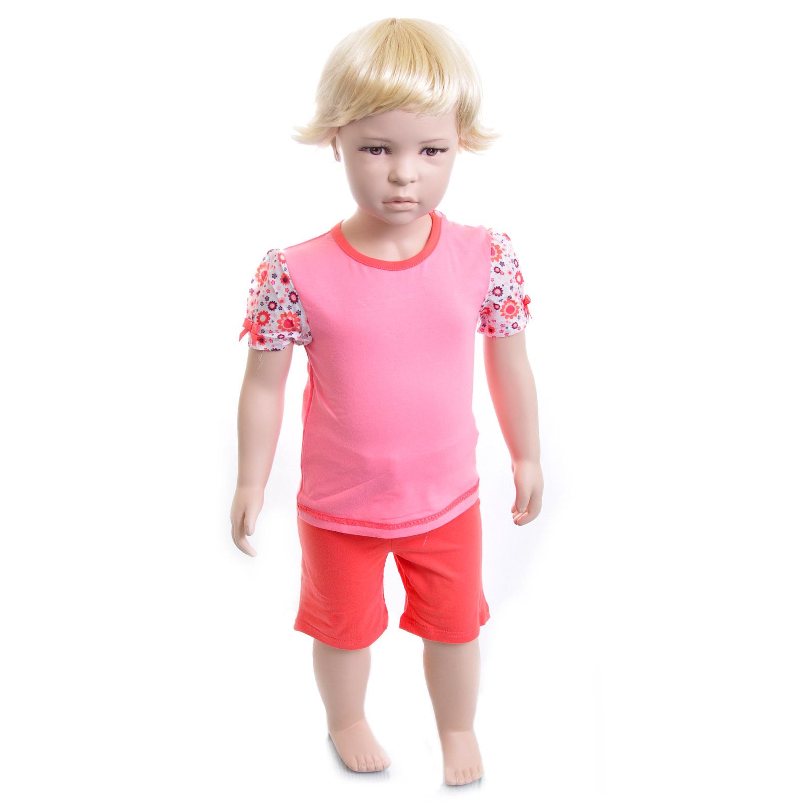 Комплект Veneya Венейя (футболка+шорты) для девочки, цвет розовый размер 92
