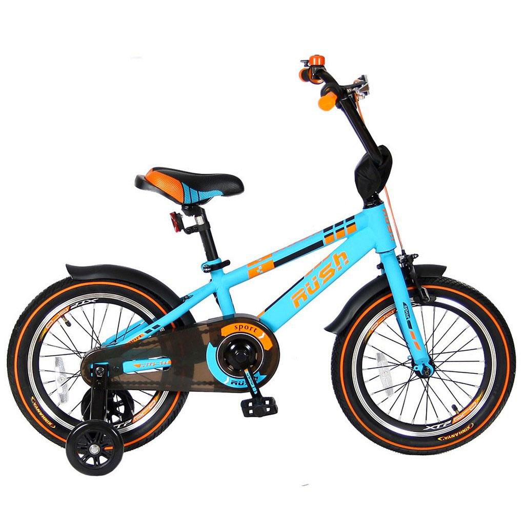 Велосипед двухколесный Velolider 16 Rush Sport R16 Бирюзовый<br>