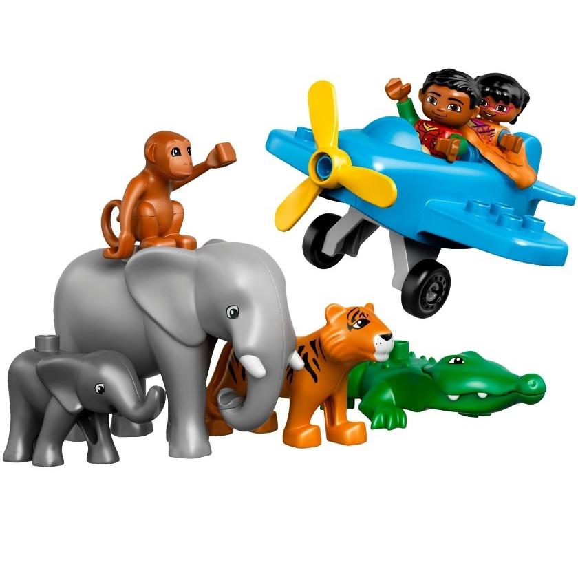 Конструктор LEGO Duplo 10804 Вокруг света: Азия<br>