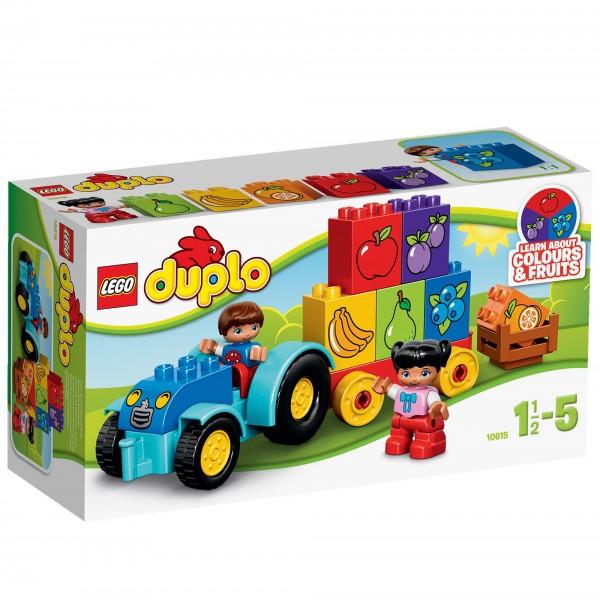 Конструктор LEGO Duplo 10615 Мой первый трактор<br>