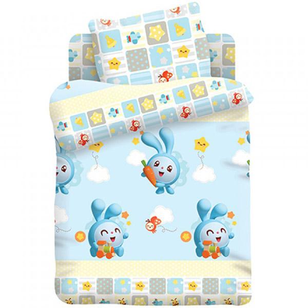 Комплект постельного белья детский Непоседа Малышарики Крош<br>