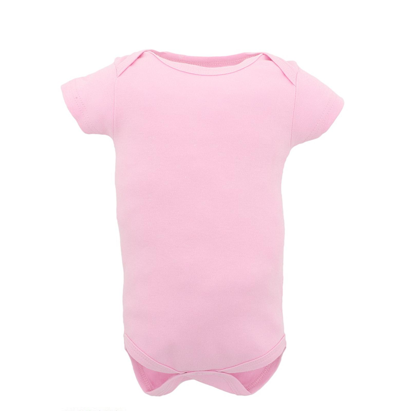 """Боди Luvable Friends Лавбл Фрэндс """"Семья"""" для девочки короткий рукав 1шт., цвет розовый 6-9 мес. (67-72 см)"""
