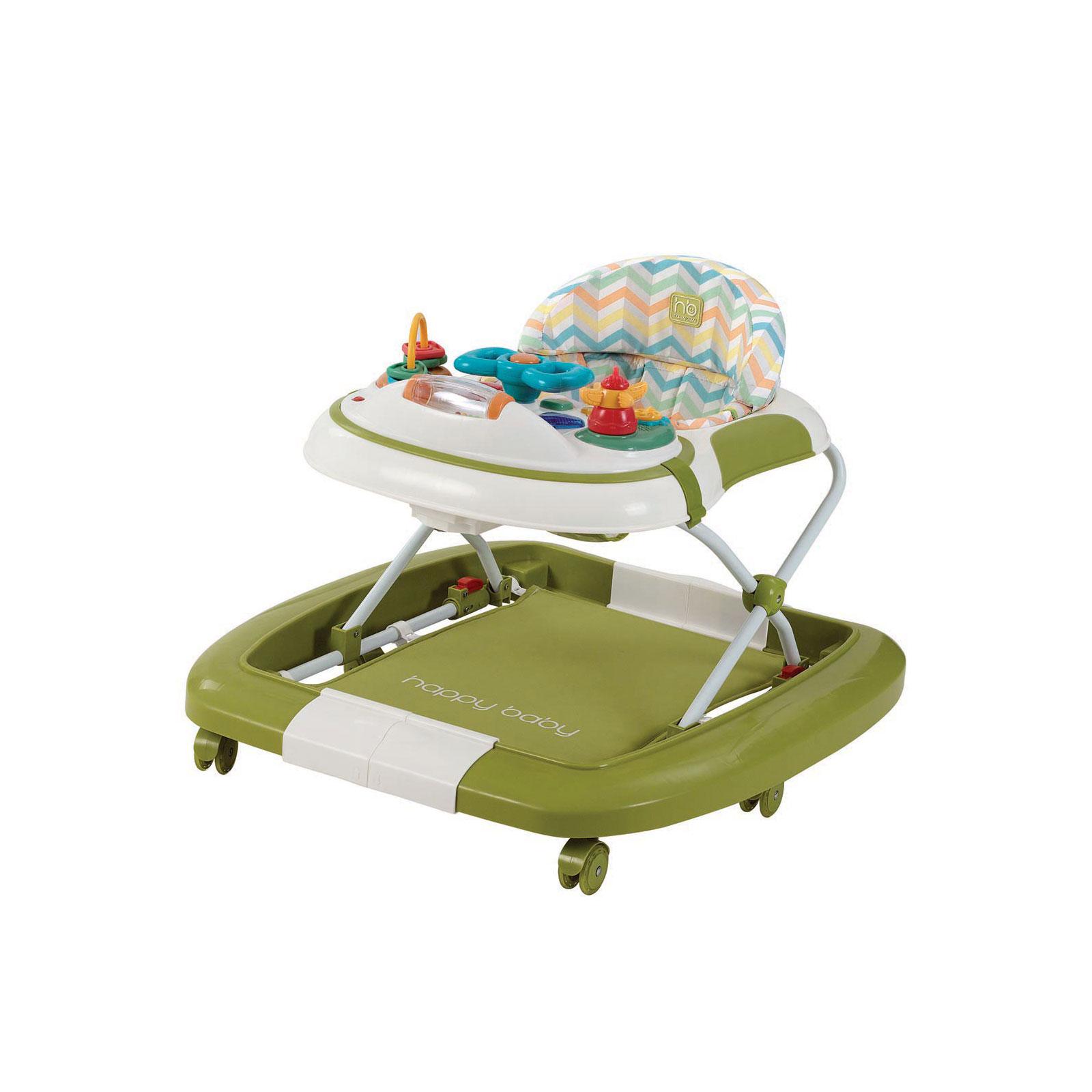 Ходунок 3 в 1 Happy Baby Robin New Green
