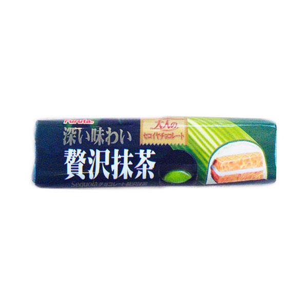 Батончик Furuta шоколадный Вафельный с зеленым чаем Matcha (с 3 лет)<br>