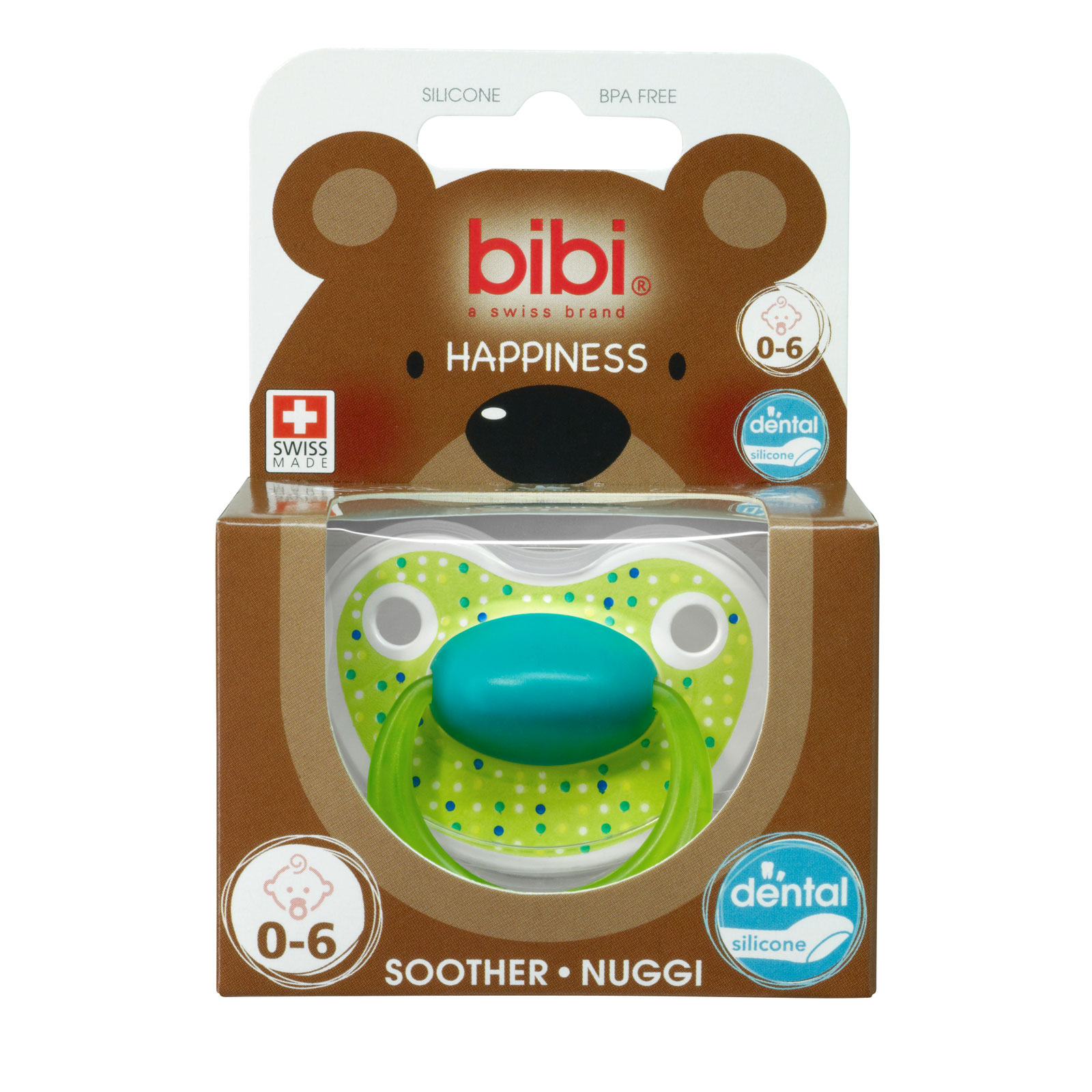 Пустышка Bibi Premium Dental Happiness LovelyDots (с 0 мес)<br>