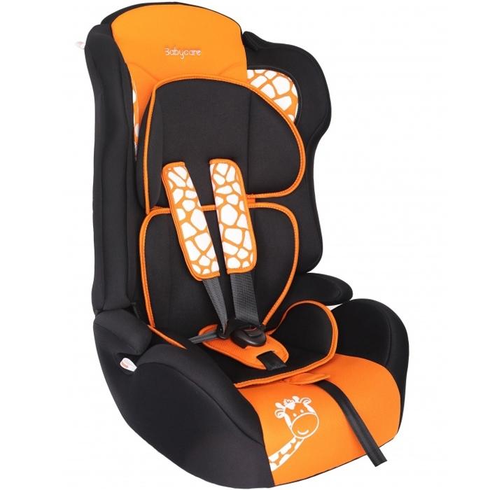 Автокресло Baby Care BC-513 Люкс Жирафик Оранжевый<br>