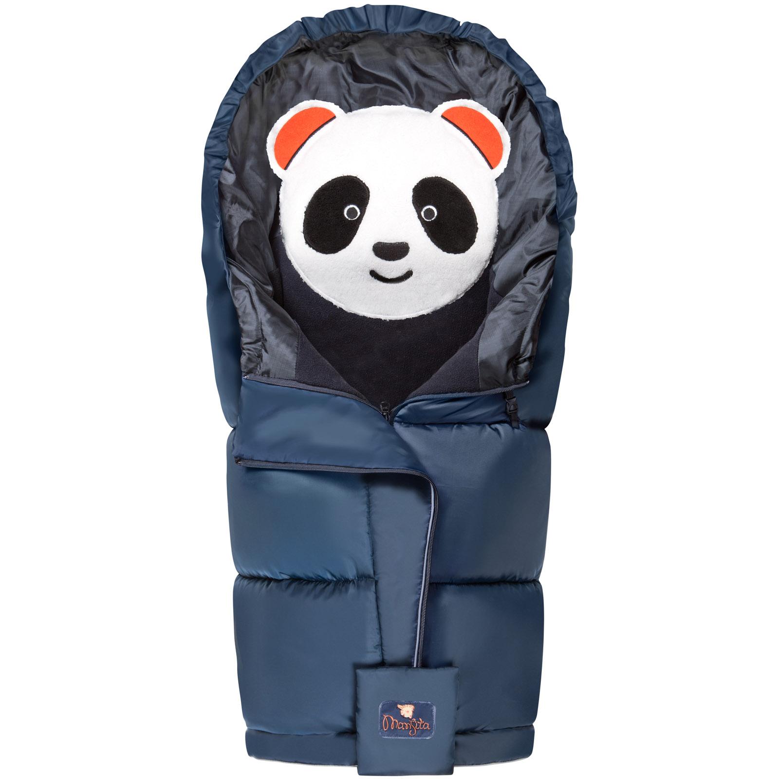 Конверт Mansita Panda флис Cиний<br>