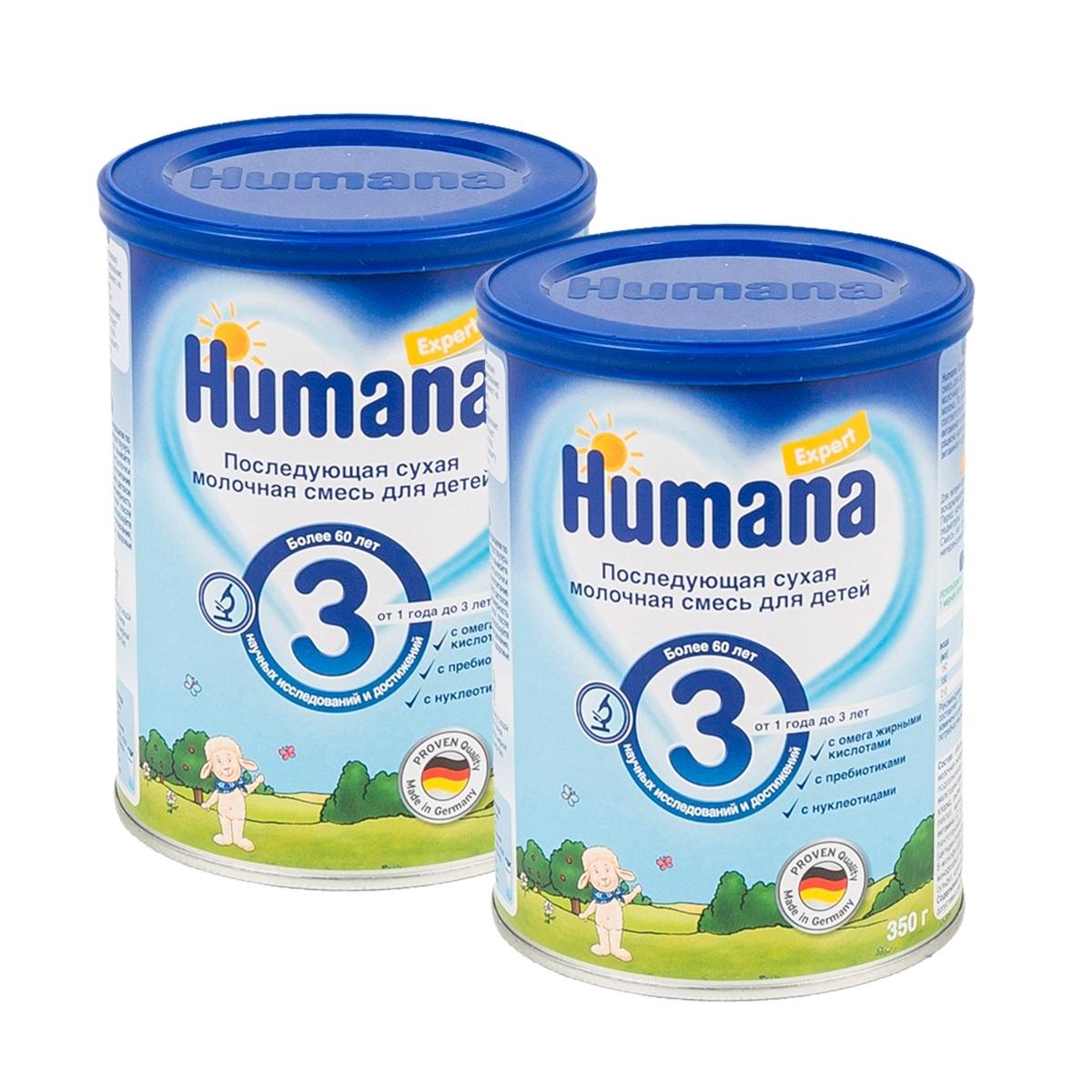 ����� ���������� Humana Expert 350 �� * 2 �� �3 (� 12 ���)