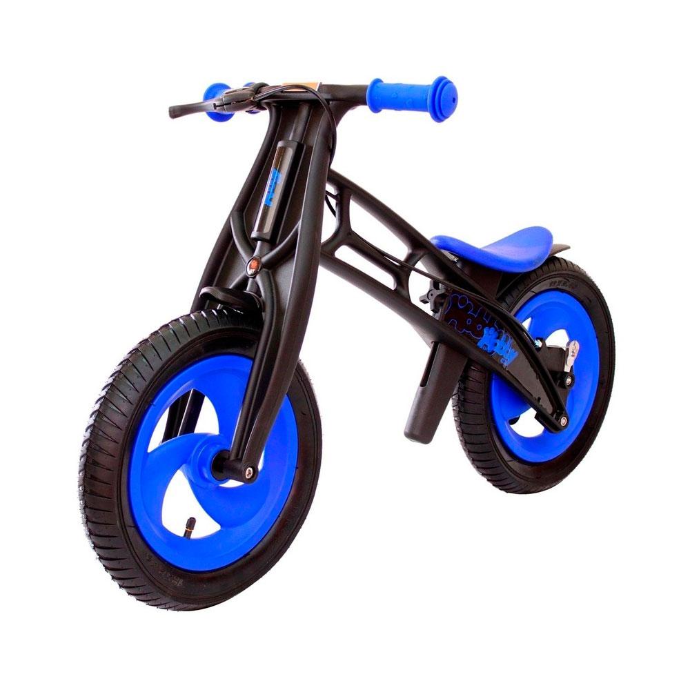 Велобалансир-беговел Hobby-bike Fly А черная оса Blue/Black<br>