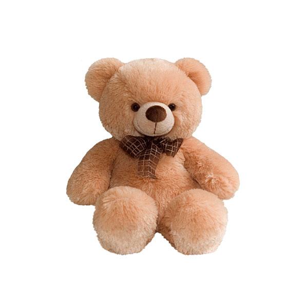 Мягкая игрушка AURORA Медведи Медведь медовый с бантом 45 см<br>