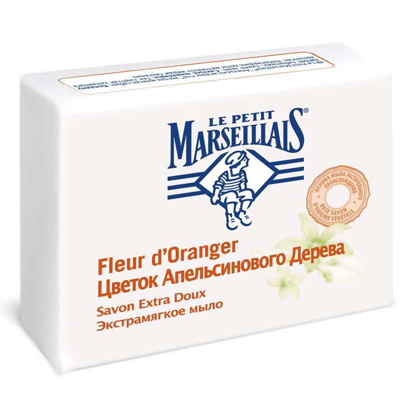 Мыло Le Petit Marseillais 90 г Цветок апельсинового дерева (экстрамягкое)<br>