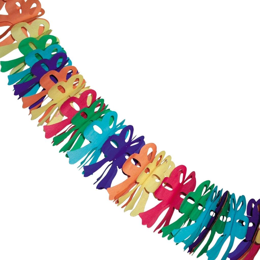 Гирлянда праздничная ACTION праздничная, пушистые бантики<br>