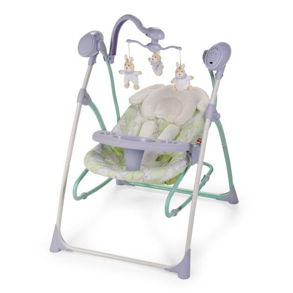 Электрокачели Happy Baby Luffy Lilac<br>