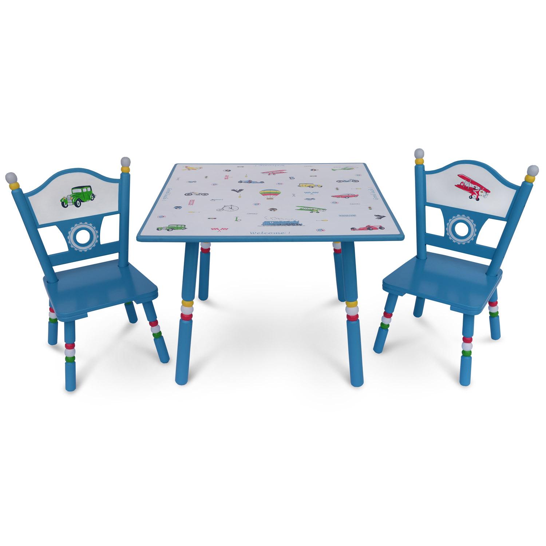 Комплект из стола и двух стульев Major-Kids Transport<br>