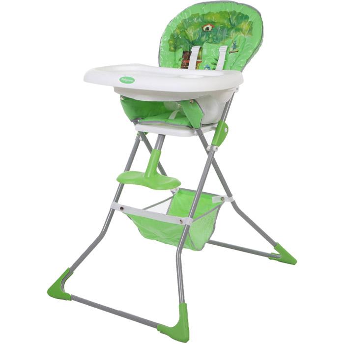 Стульчик для кормления Baby Care Tea Time Зелёный<br>