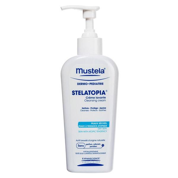 Крем  для мытья Stelatopia для новорожденных, младенцев и детей Mustela 200 мл<br>