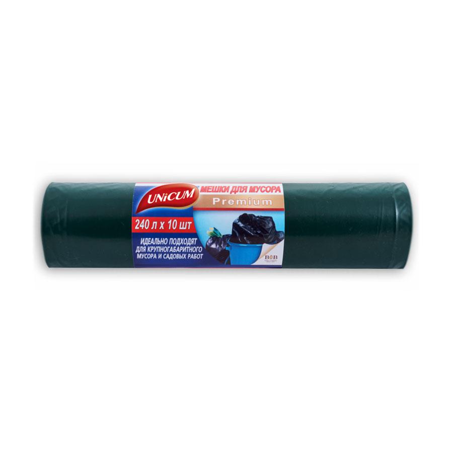 Мешки для мусора Unicum 240л 10шт<br>