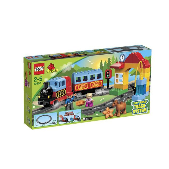 Конструктор LEGO Duplo 10507_lego Мой первый поезд<br>
