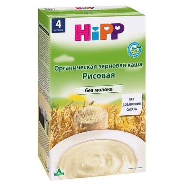 Каша Hipp безмолочная 200 гр Рисовая (с 4 мес)<br>