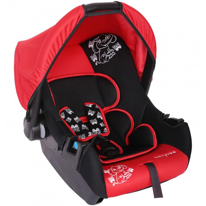 Автокресло Baby Care BC-322 Люкс Слоник Красный<br>