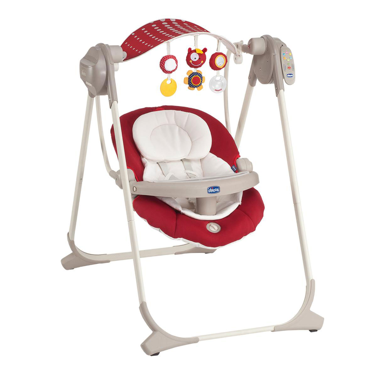 Электрокачели Chicco Polly Swing Up Red<br>