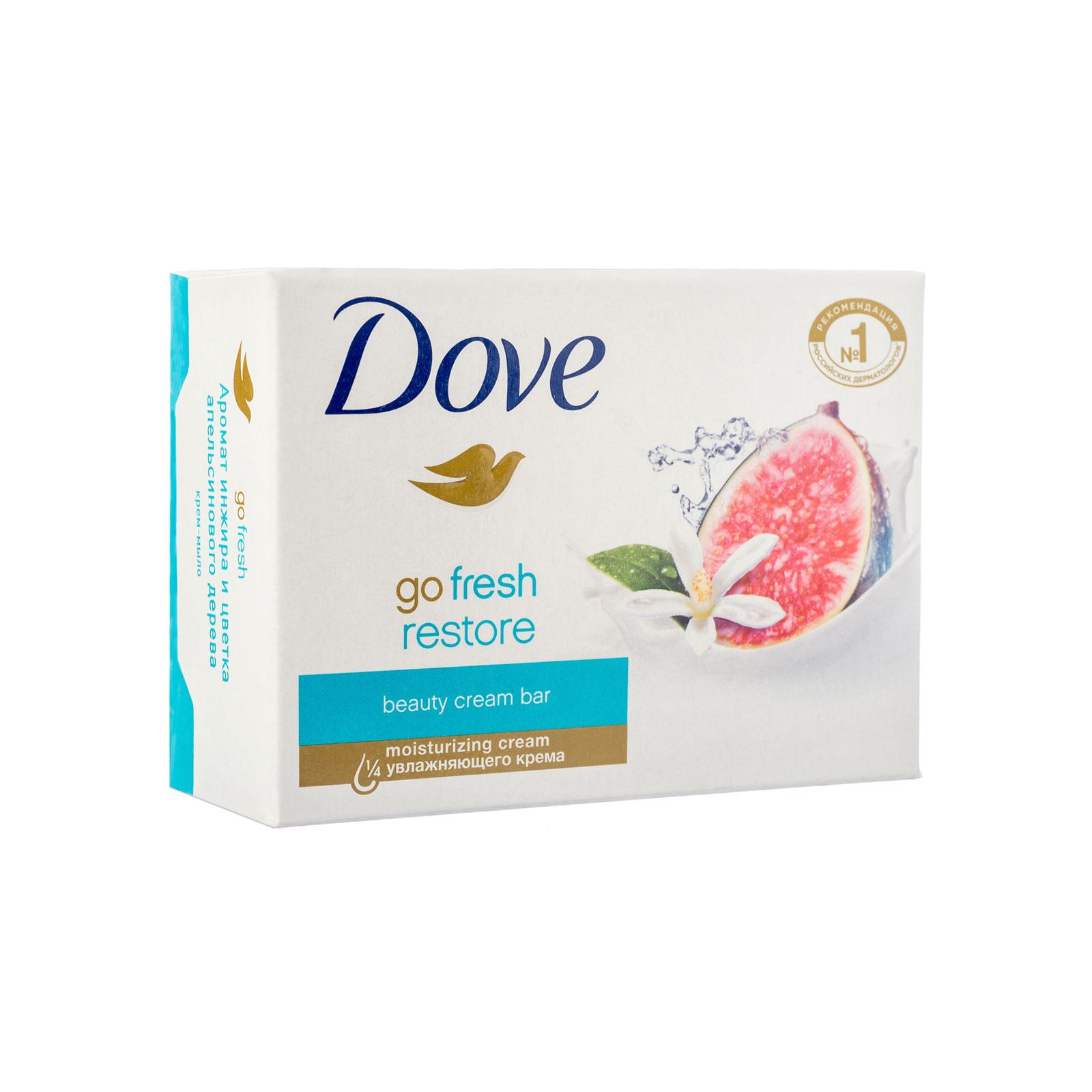 Крем-мыло Dove инжир и лепестки апельсина 135 гр<br>