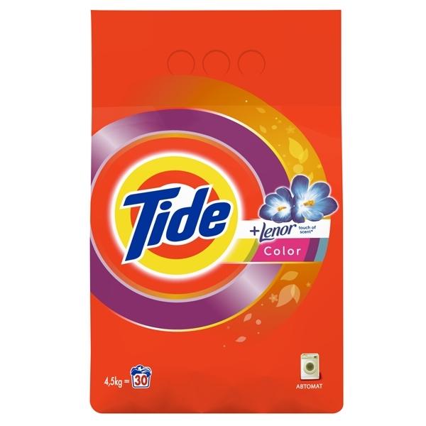Стиральный порошок Tide Color Lenor Touch of Scent 4,5 кг<br>