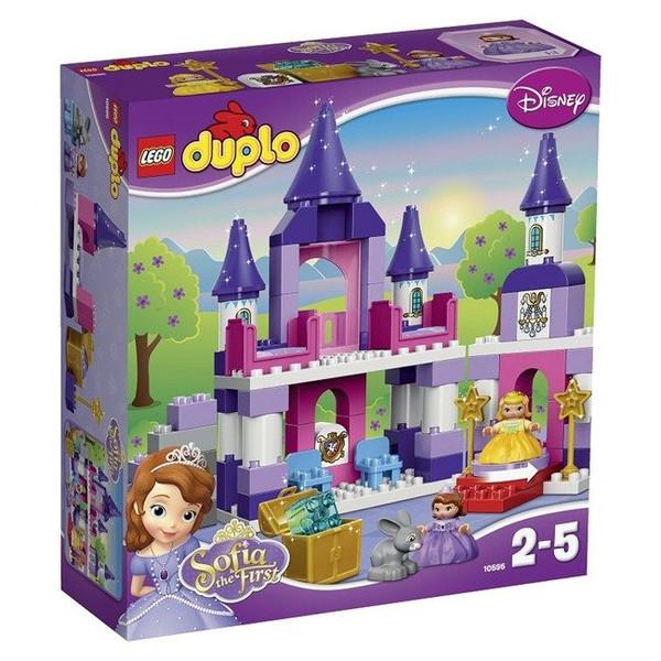 Конструктор LEGO Duplo 10595 Прекрасная: королевский замок Софии<br>