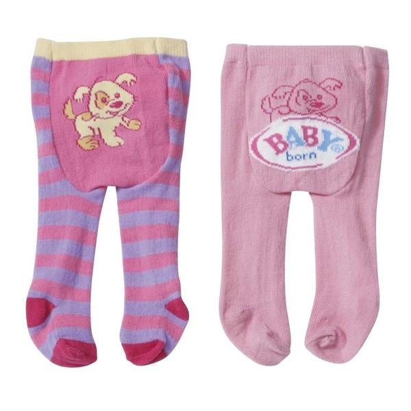 Одежда для кукол Zapf Creation Baby Born Колготки 2 пары в блистере (В ассортименте)<br>