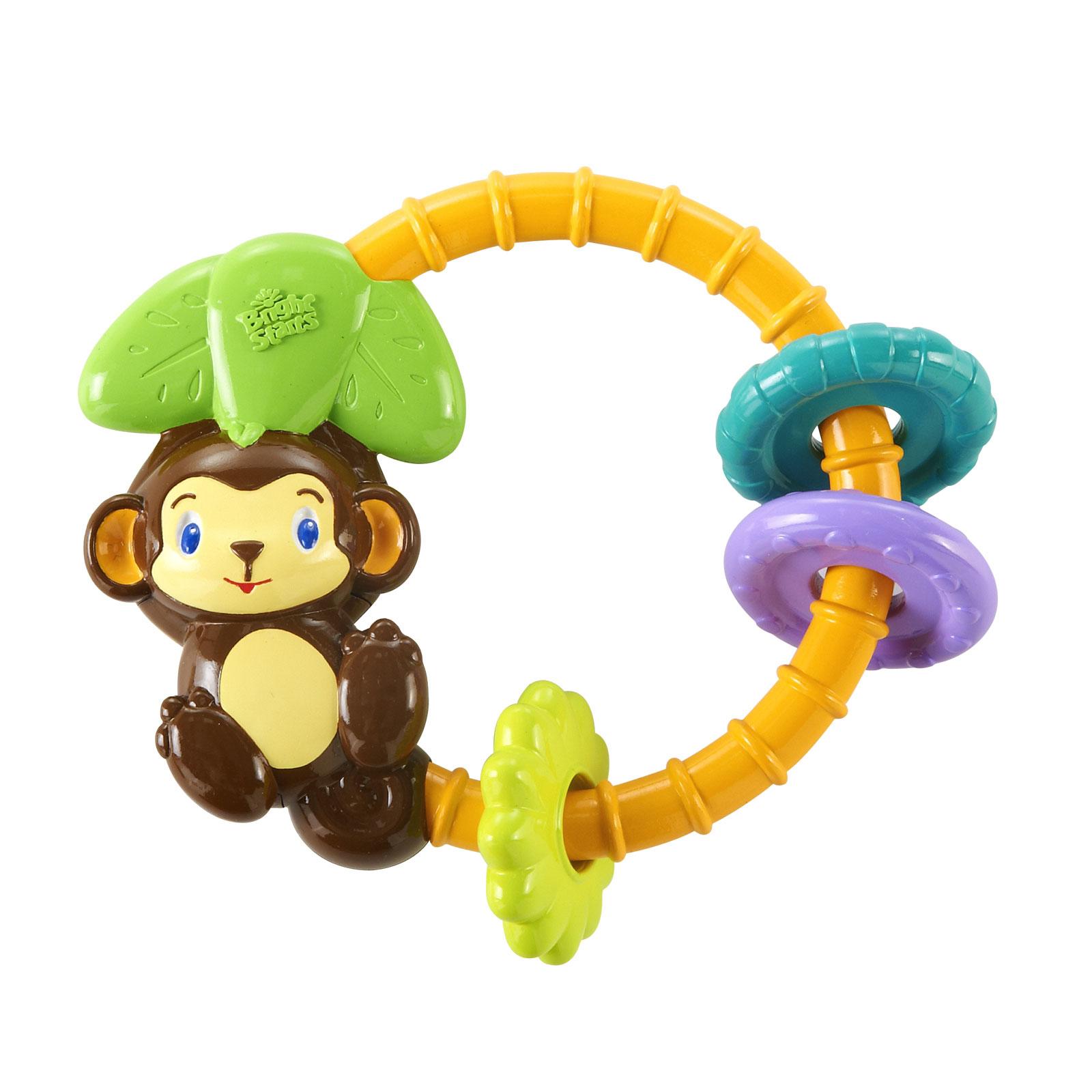 Развивающая игрушка Bright Starts Обезьянка с 3 мес.<br>