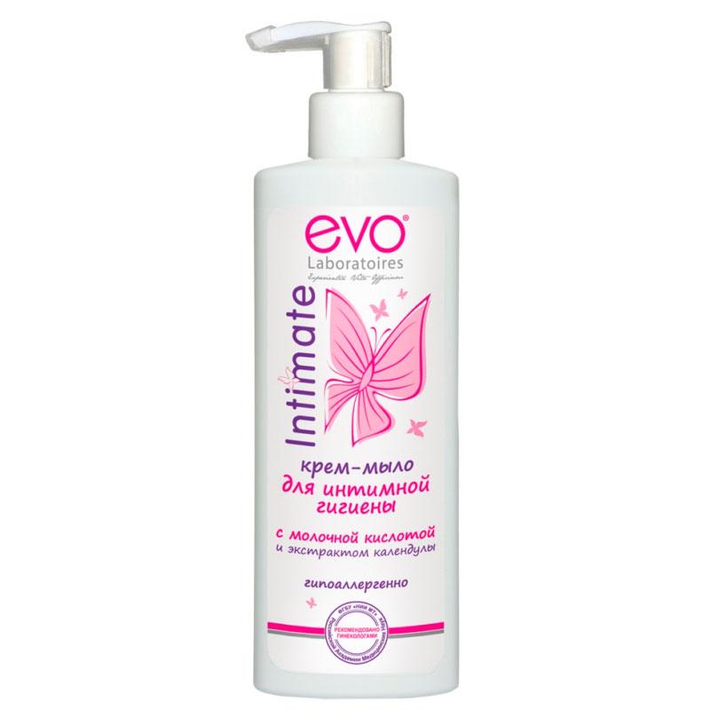 Крем-мыло для интимной гигиены EVO с экстрактом календулы  200 мл<br>