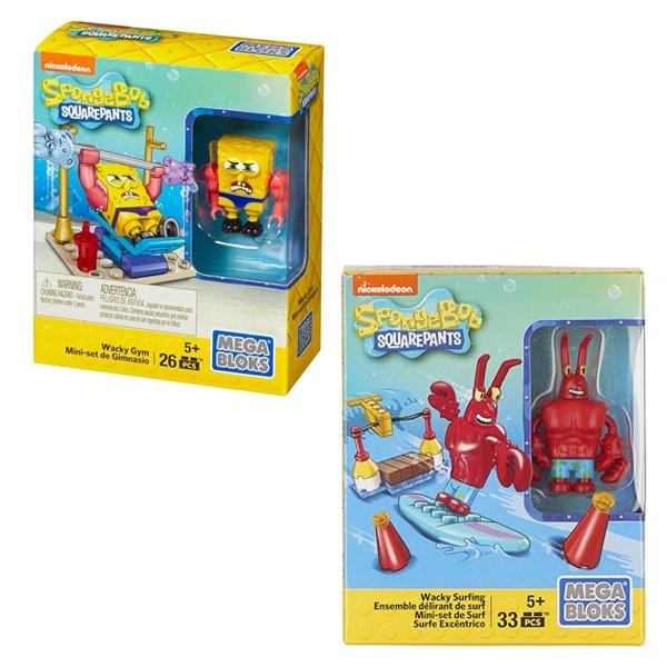 Игровой набор Mega Bloks Губка Боб в ассортименте<br>