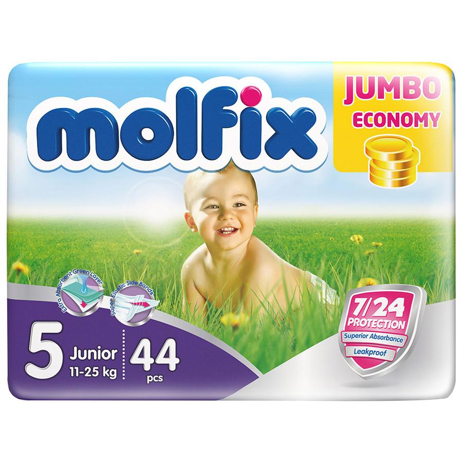 Подгузники Molfix Junior 11-25 кг. (44 шт.) Размер 5<br>