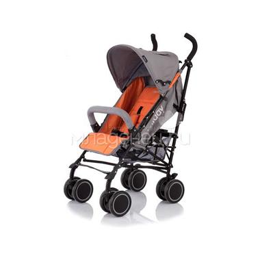 Коляска-трость Jetem Holiday orange grey