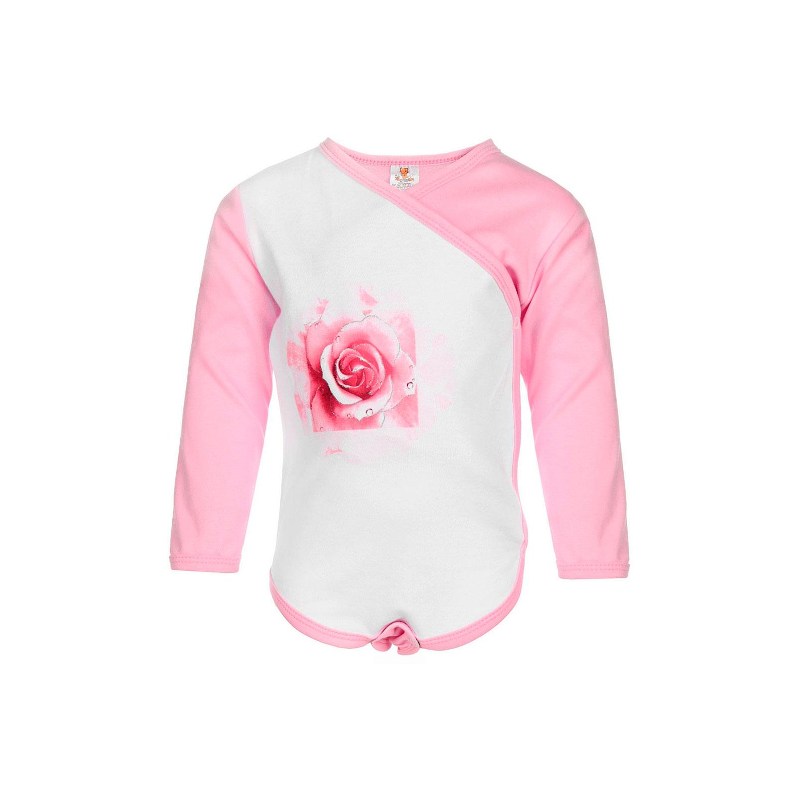 Боди распашонка Котмаркот Розы рост 68 розовый<br>