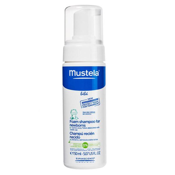 Пенка-шампунь для новорожденных Mustela 150 мл<br>
