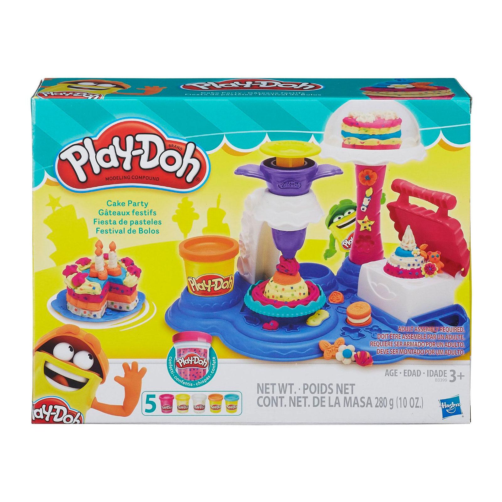 Игровой набор Play-Doh Сладкая вечеринка<br>